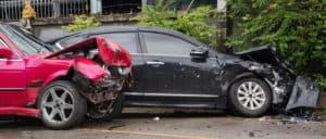 Car collision accident crash barrier fence